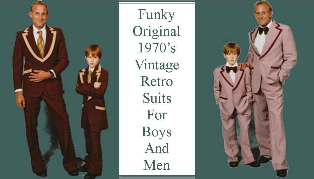 Funky Retro Suits