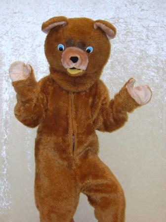 how to make a bear suit